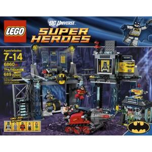 Lego 6860 - Batcave super heros