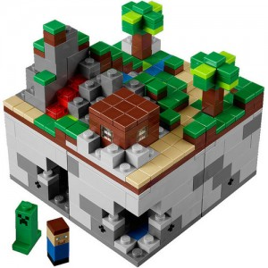 Lego Minecraft 21102 blocks