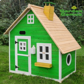 green cubby the whacky mansion