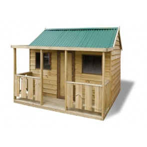 wooden cubby house kit